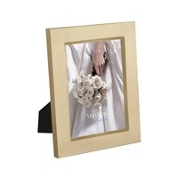 Vera Wang Wedgwood Grosgrain Gold Photo Frame 5X7