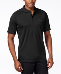 Columbia Men's Polo Shirt Black