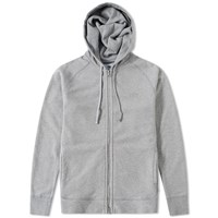 Asics X Reigning Champ Full Zip Hoody Grey