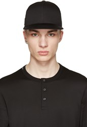 Dolce And Gabbana Black Logo Cap