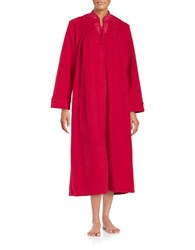 Miss Elaine Embroidered Mumu Duster Robe