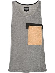 Christopher Raeburn Cork Pocket Vest Grey