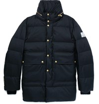 Moncler Gamme Bleu Quilted Twill Down Jacket Midnight Blue