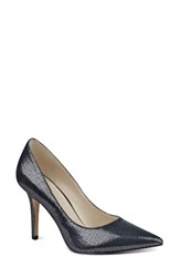 Nine West Women's 'Jackpot' Pointy Toe Pump Pewter Glitter