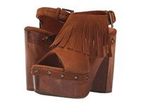 Cordani Tijuana Honey Suede High Heels Brown