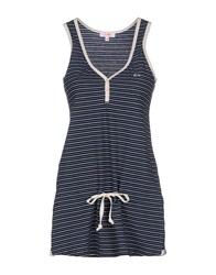 Sun 68 Tank Tops Dark Blue