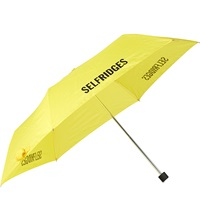 Fulton Superslim Branded Umbrella Yellow