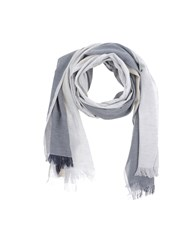 Jil Sander Accessories Oblong Scarves Men Light Grey