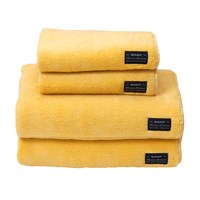Gant Solid Terry Towel Golden Yellow Face