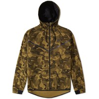 Nike Tech Fleece Camo Windrunner Green