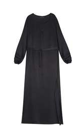 The Row Marl Dress Black