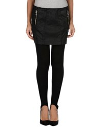Pinko Grey Trousers Leggings Women Black