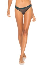 Only Hearts Club Tulle With Lace Low Rise Thong Grey