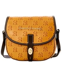 Dooney And Bourke New York Yankees Leather Field Bag Navy