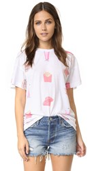 Wildfox Couture Wine And Diner Tee Multi