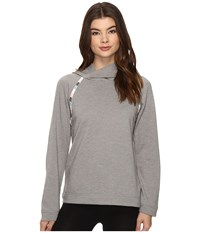 Lucky Brand Luxe Chillin Out Hoodie Grey Women's Pajama Gray