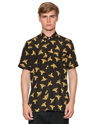 Vivienne Westwood Orbit Printed Techno Crepe Shirt