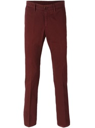 Aspesi Slim Fit Chino Red