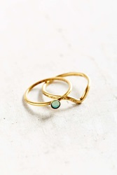 Urban Outfitters Perfect Friends Ring Set Gold
