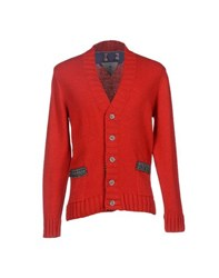 Macchia J Knitwear Cardigans Men Red