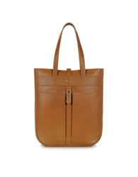 Paul Smith Men's Leather Fishing Tote Tan