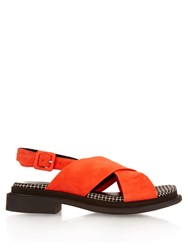 Robert Clergerie Calientex Suede Sandals