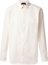 N.21 Polka Dot Shirt White