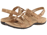 Vionic With Orthaheel Technology Amber Gold Cork Women's Sandals