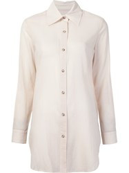 Simon Miller Long Shirt White