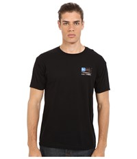 O'neill United Short Sleeve Screen Tee Black Men's T Shirt