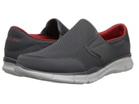 Skechers Equalizer Persistent Charcoal Men's Slip On Shoes Gray