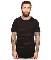 Tavik Meridian Short Sleeve Knit Black Men's Short Sleeve Knit