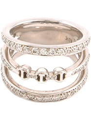 Hoorsenbuhs 'Aset' 3 Stacked Ring Metallic