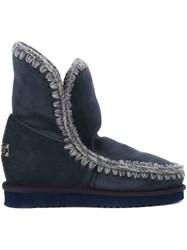 Mou 'Eskimo Inner Wedge' Boots Grey