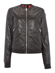 Replay Eco Leather Jacket Black