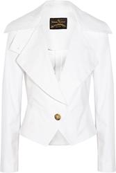 Vivienne Westwood Resort Stretch Cotton Blazer