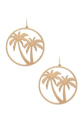 Forever 21 Palm Tree Earrings