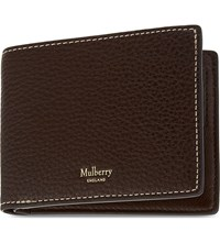 Mulberry Classic Grained Leather Wallet Oxblood