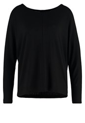 Vila Vinimas Long Sleeved Top Black