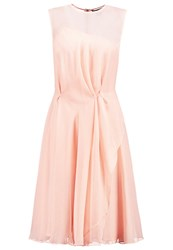 French Connection Cocktail Dress Party Dress Rose Tan Nude