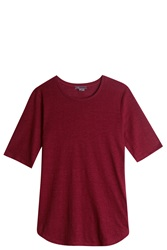 Vince Elbow T Shirt Red