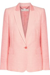 Stella Mccartney Neon Boucle Blazer Pink