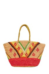 Sensi Studio Tribal Maxi Tote Bag Multi
