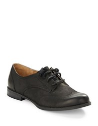 Sperry Devon Leather Lace Up Oxfords Black