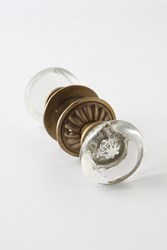 Anthropologie Monocle Doorknob Clear