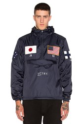 10.Deep Global Games Nylon Pullover Navy