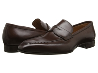 Gravati Calf Leather Moc Toe Penny Loafer