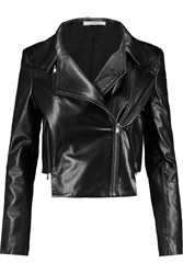 J Brand Connix Leather Jacket Black
