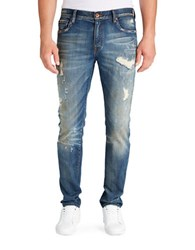 William Rast Marauder Hollywood Slim Jeans Medium Blue