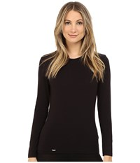 La Perla New Project Long Sleeve Tee Black Women's T Shirt